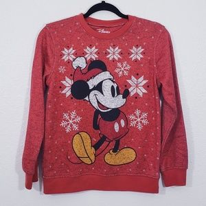 Disney Mickey Mouse Christmas Sweater Size M